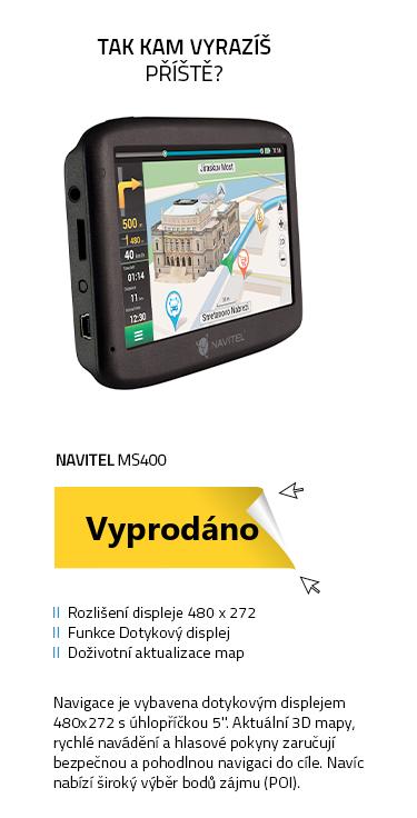 Navigace Navitel MS400 GPS navigace