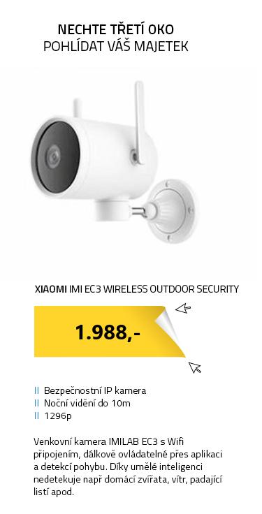 Xiaomi IMI EC3 Wireless Outdoor Security Kamera