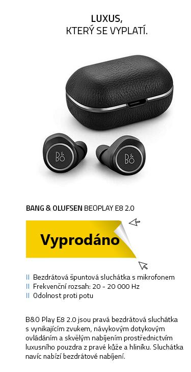Bang & Olufsen BeoPlay E8 2.0 černá