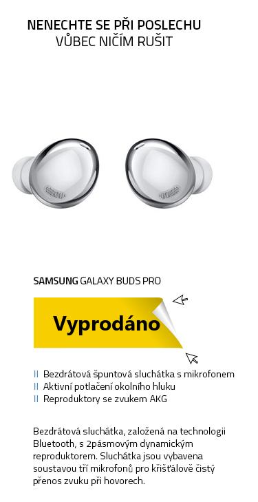Samsung Galaxy Buds Pro stříbrná