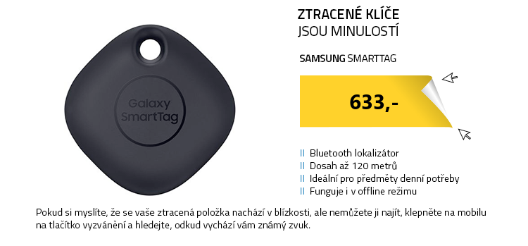 Samsung SmartTag černá