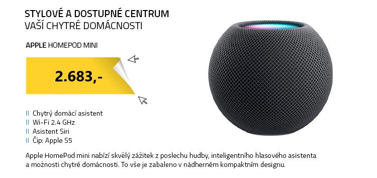 Apple HomePod mini šedá
