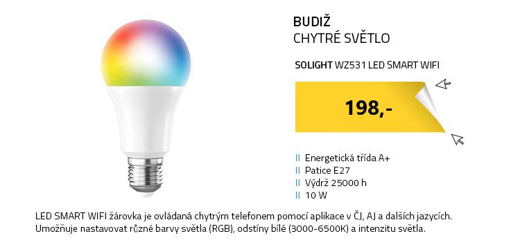 Solight WZ531 LED SMART WIFI žárovka 10W