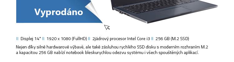 Notebook ASUS ExpertBook P2451FA-EB1416R černá