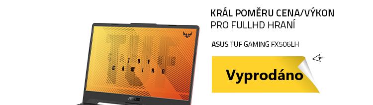 Notebook ASUS TUF Gaming FX506LH černá