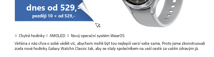 Chytré hodinky SAMSUNG Galaxy Watch 4 Classic (46 mm)