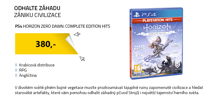 PS4 Horizon Zero Dawn: Complete Edition HITS
