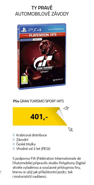 PS4 Gran Turismo Sport HITS