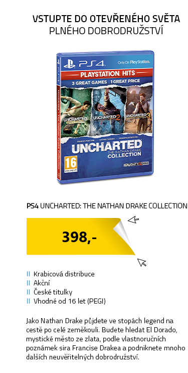 PS4 Uncharted: The Nathan Drake Collection