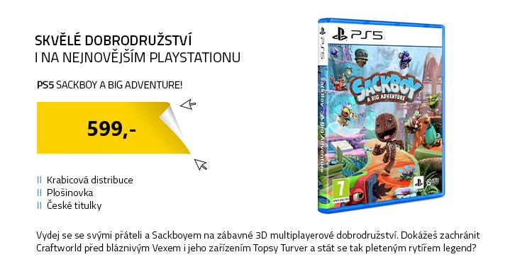 PS5 Sackboy A Big Adventure!
