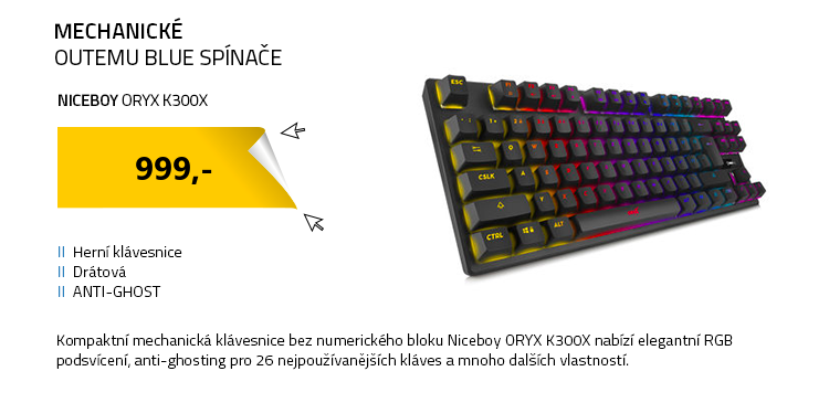 Niceboy ORYX K300X