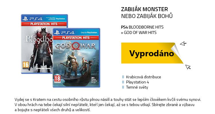 PS4 Bloodborne HITS a God of War HITS
