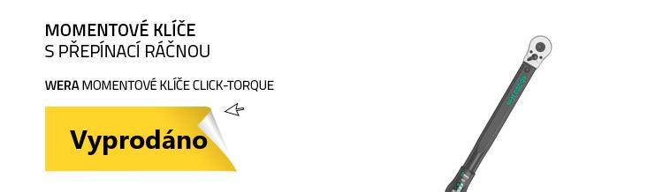 WERA Momentové klíče Click-Torque C 3 s přepínací ráčnou